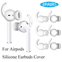 Silicone Earbuds Cover Ear pads Case Earphone Replacement For Apple Airpods 2