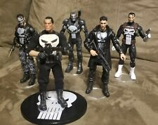 Punisher - Mezco One 12 & Marvel Legends - Lot Of 5 - Action Figures - loose