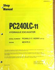 Komatsu PC240LC-11 Hydraulic Excavator Log Loader Workshop Repair
