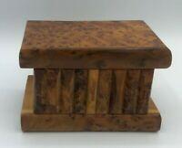 THUYA WOOD MAGIC PUZZLE BOX HANDMADE IN MOROCCO