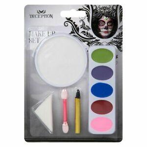 Halloween Party Horror Make Up Set,Face Paint Design # 2 Fancy Dress Accessories