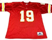 Kansas City Chiefs 19 Apex One Mens Jersey Red V Neck Breathable XL