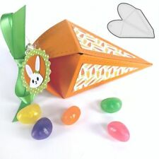 Easter Carrot Box Cutting Dies Candy Boxes DIY Scrapbooking Embossing Stencils