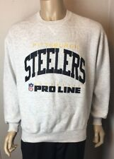 Pittsburg Steelers Pro Line NFL Vintage Russell Sweater Mens Sz XL Made in USA
