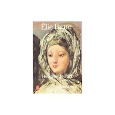 HISTOIRE de L'ART par Élie FAURE l'Art Moderne Nombreuses Illustrations 1982 T1