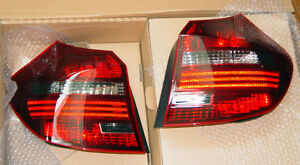 BMW E87 LCI E81 1 Series Genuine European Black Line Taillights High Xenon Type