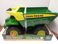 NEW John Deere Big Scoop Real Steel Dump Truck, Built Sandbox Tough  (35350)