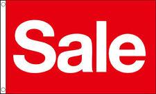 5' x 3' Red Sale Flag Car Boot Shop Market Stall Garage Van Vehicle Sales Banner