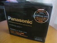 Sanyo Panasonic Eneloop Pro rechargeable?battery charger + 4 AA Japan 2450mAh