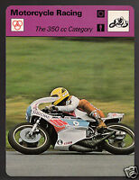 350cc CATEGORY Motorcycle Racing Takazumi Katayama Yamaha 1978 SPORTSCASTER CARD