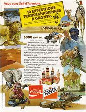 Publicité ancienne Boisson Fanta 1982 issue de magazine