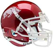 ARKANSAS RAZORBACKS NCAA Schutt AiR XP Full Size AUTHENTIC Football Helmet