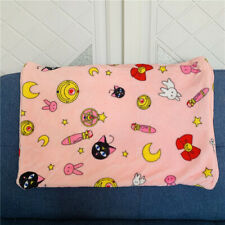 Cardcaptor Sakura pink plush soft pillowcase pillow cover pillowcases model