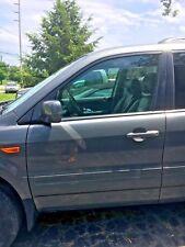 2006 2007 2008 Honda Pilot Driver Left Front Door Electric with Window No Mirror
