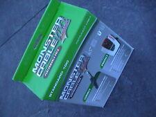 Monster Model 600476 Pro200 Power Center & Standard 100 12Ft Guitar Cable Pack!