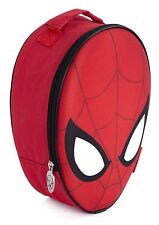 SPIDERMAN HOMECOMING 3D Lunch Box Boys Insulated Cool Bag Sandwich Tuck Snack UK