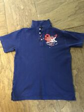 Boys Polo Ralph Lauren blue polo (M 12-14) Très bon état
