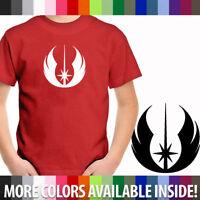 Star Wars Legacy Old Jedi Order Symbol Shirt Unisex Kids Boy Youth Tee T-Shirt