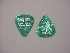 Cheap Trick guitar pick Rick Nielsen Green 2006 Tour!
