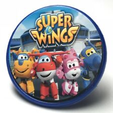 Super Wings Cupcake Toppers Rings Birthday Party Favors - 16 pcs