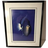 David Leach Original Deep Sea Photograph Framed Signed & Numbered 36/250-14x11""