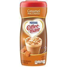NEW NESTLE COFFEEMATE CARAMEL MACCHIATO COFFEE CREAMER 15OZ FREE WORLDWIDE SHIP