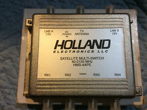 Holland Electronics HMS-4APE Satellite Multi Switch - NEW