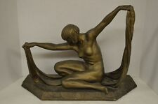 Austin Prod Inc 1983 Isis Sculpture Egyptian Goddess