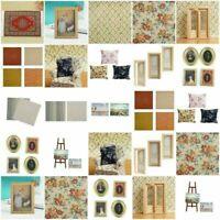 1:12 Blanket DIY Tür Ölgemälde Sofa Puppenhaus Miniatur DIY Möbel I9J2 Q4T1 O0U6