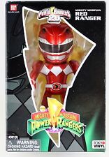NYCC 2013 exclusive Power Rangers Tokyo Vinyl Metallic Red Ranger RARE