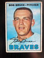 1967 Topps Bob Bruce #417 Baseball Card