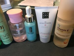 Assortment of Skin Care Products Clinique Garnier