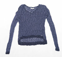 Abercrombie & Fitch Womens Size M Blue Top (Regular)