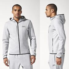 ADIDAS PORSCHE DESIGN TURBO GRAY ZIP HOODIE ORIGINALS BOUNCE SPORTJACKET SIZE S
