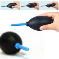 1 xRubber Air Dust Blower Bulb Pump Cleaning Cleaner Camera For Digital Z0F7