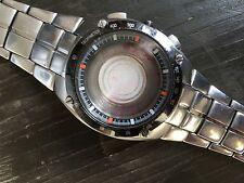 Seiko Sportura Chronograph Stainless Steel Watch Bracelet Strap Only Wristwatch