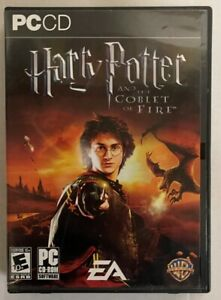 Harry Potter PC CD-ROM EA and the Goblet of Fire Game w/Key