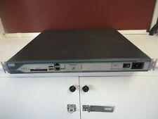 Cisco 2800 Series 2811 Integrated Services Router w/64MB Flash & VWIX 2MFT-T1 x2