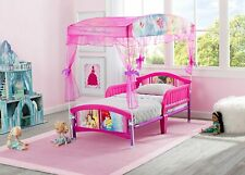 Factory New Delta Children's Products Princess Canopy Toddler Bed & Mattress
