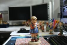 New Listing Hummel Goebel I Wonder #486 Tmk7 Exclusive Edition Blonde Girl w Doll Figurine