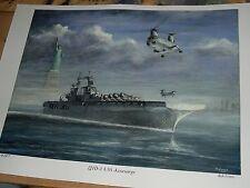 USS Kearsarge LHD-3 Assault carrier US Navy Marines, New York, Liberty Statue