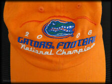 Florida Gators Football Cap National Champions Strapback Hat +Fun UF Rain Poncho