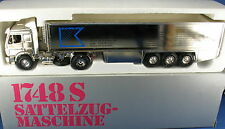 NZG 313-MERCEDES MB 1748 S autoarticolati-Kappler modello pubblicitari-Chrome - 1:43