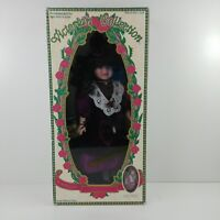Victorian Collection Rebecca Porcelain Doll by Melissa Jane Limited 1995 Ed.
