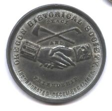 OREGON HISTORICAL SOCIETY MEDAL * JEFFERSON PEACE & FREEDOM * CIRCA 1967
