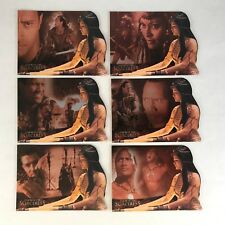 THE SCORPION KING (Inkworks 2002) Complete VISION OF SORCERESS Chase Card Set 6