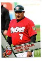 Jhonny Carvajal 2018 Fort Wayne Tincaps team set card