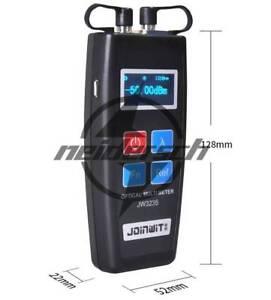 All-in-one Red Light Meter Color Screen Mini Fiber Optical Power Meter JW3235