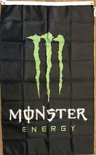 Monster Energy Flag 3x5 Vertical Banner Power Drink Logo Man Cave Promotional