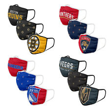 NHL 3 Pack Officially Licensed Face Coverings Various Teams